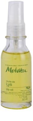 Melvita Huiles de Beauté Lys роз'яснююча сонцезахисна олійка для шкіри обличчя та рук