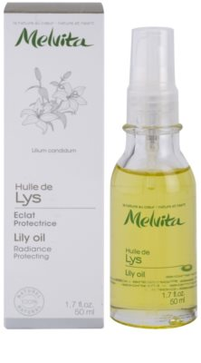 Melvita Huiles de Beauté Lys ochronny olejek rozświetlający do twarzy i dłoni. 2