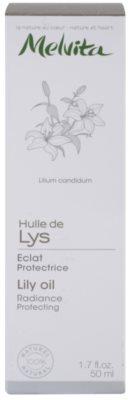 Melvita Huiles de Beauté Lys ochronny olejek rozświetlający do twarzy i dłoni. 3