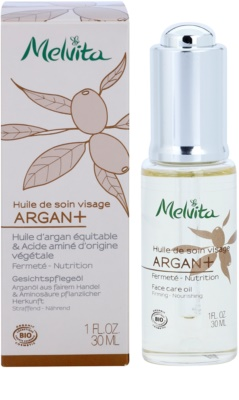 Melvita Huiles de Beauté Argan+ fermitate anti-imbatranire 1