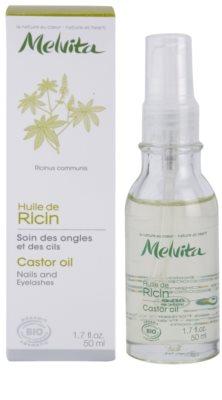 Melvita Huiles de Beauté Ricin stärkendes Öl für Nägel und Wimpern 2