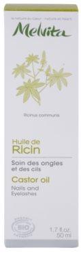 Melvita Huiles de Beauté Ricin stärkendes Öl für Nägel und Wimpern 3