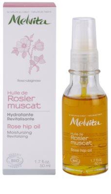 Melvita Huiles de Beauté Rosier Muscat ulei hidratant si revitalizant pentru fata si corp 2