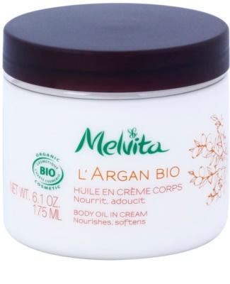 Melvita L'Argan Bio nährende Körpercreme für sanfte und weiche Haut