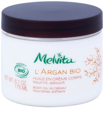 Melvita L'Argan Bio creme corporal nutritivo para pele fina e lisa 1