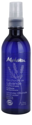 Melvita Eaux Florales Lavende Officinale Reinigungswasser zur Erneuerung des Gleichgewichts der Haut im Spray