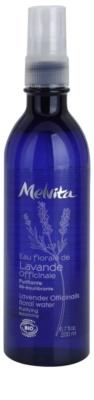 Melvita Eaux Florales Lavende Officinale tisztító víz a bőr egyensúlyának megújulásáért spray -ben