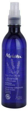 Melvita Eaux Florales Lavende Officinale Reinigungswasser zur Erneuerung des Gleichgewichts der Haut im Spray 1