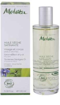 Melvita Les Essentiels Trockenöl für sanfte und weiche Haut 2