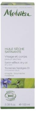 Melvita Les Essentiels Trockenöl für sanfte und weiche Haut 3