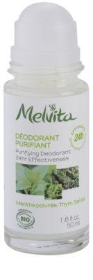 Melvita Les Essentiels desodorante roll-on sin aluminio  24h 1
