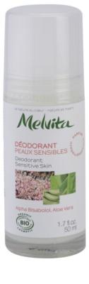 Melvita Les Essentiels deodorant roll-on bez obsahu hliníku pro citlivou pokožku