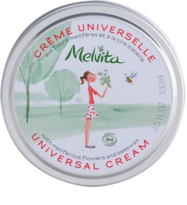 Melvita Les Essentiels Universalcreme Für Gesicht und Körper
