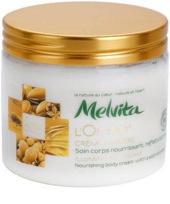 Melvita L'Or Bio озаряващ крем за тяло