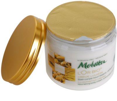 Melvita L'Or Bio crema iluminadora para el cuerpo 1