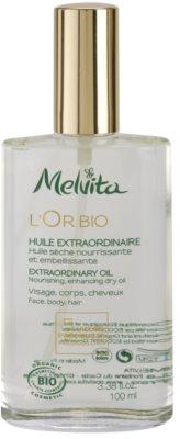 Melvita L'Or Bio tápláló száraz olaj arcra, testre és hajra