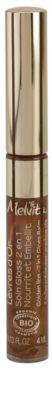 Melvita L'Or Bio błyszczyk i balsam do ust 2w1