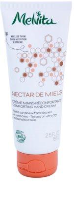 Melvita Nectar de Miels erneuernde Handcrem für trockene und empfindliche Haut