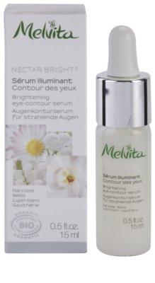 Melvita Nectar Bright aufhellendes Serum für die Augenpartien 1