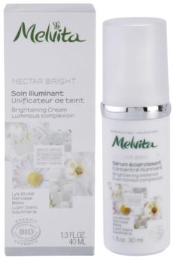 Melvita Nectar Bright Creme zur Verjüngung der Gesichtshaut 2