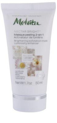 Melvita Nectar Bright piling maska za osvetlitev kože