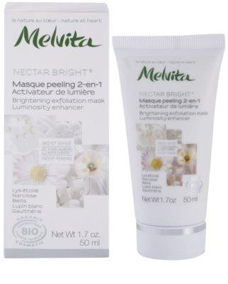 Melvita Nectar Bright Peeling Maske zur Verjüngung der Gesichtshaut 1