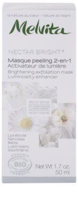 Melvita Nectar Bright piling maska za osvetlitev kože 2