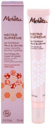 Melvita Nectar Supreme glättende Augencreme Für Lippen und Augenumgebung 1