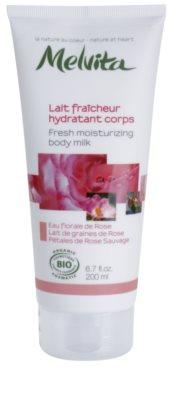 Melvita Nectar de Roses erfrischende Bodymilch mit feuchtigkeitsspendender Wirkung