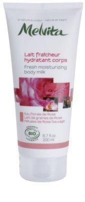 Melvita Nectar de Roses osvežilni losjon za telo z vlažilnim učinkom
