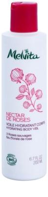 Melvita Nectar de Roses könnyű testápoló krém hidratáló hatással