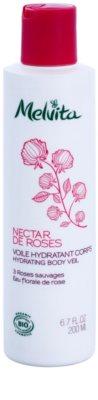 Melvita Nectar de Roses leichte Körpermilch mit feuchtigkeitsspendender Wirkung