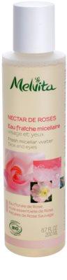 Melvita Nectar de Roses água micelar refrescante para rosto e olhos