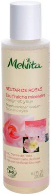 Melvita Nectar de Roses освежаваща мицеларна вода за лице и очи
