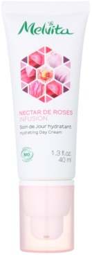Melvita Nectar de Roses crema de día hidratante para pieles normales