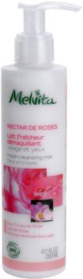 Melvita Nectar de Roses osvěžující čisticí pleťové mléko