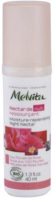 Melvita Nectar de Roses éjszakai hidratáló szérum fiatalító hatással