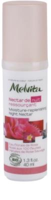 Melvita Nectar de Roses feuchtigkeitsspendendes Nachtserum mit Verjüngungs-Effekt
