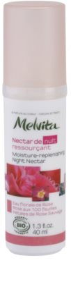Melvita Nectar de Roses ser de noapte hidratant cu  efect de intinerire
