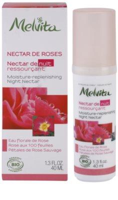 Melvita Nectar de Roses Sérum hidratante para a noite com efeito rejuvenescedor 2
