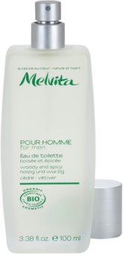 Melvita Pour Homme Eau de Toilette für Herren   Cedar - Vetiver 2