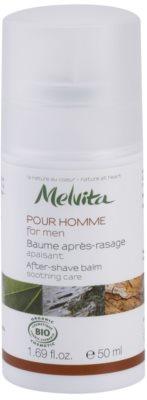 Melvita Pour Homme zklidňující balzám po holení