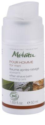 Melvita Pour Homme balsam calmant dupa barbierit 1