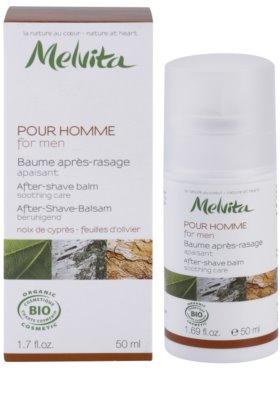 Melvita Pour Homme успокояващ балсам след бръснене 2