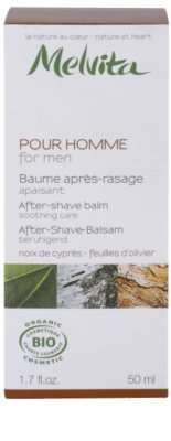 Melvita Pour Homme balsam calmant dupa barbierit 3
