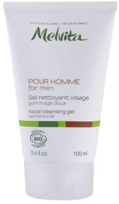 Melvita Pour Homme čisticí pleťový gel