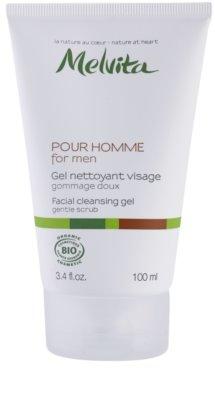 Melvita Pour Homme Reinigungsgel für das Gesicht
