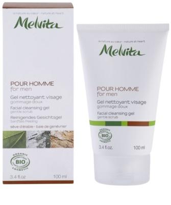 Melvita Pour Homme gel facial de limpeza 1