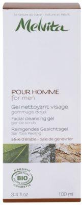 Melvita Pour Homme gel facial de limpeza 2