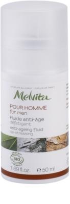 Melvita Pour Homme Fluid gegen das Altern für müde Haut